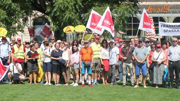 2019-06-26 Streik Banken Wiesbaden
