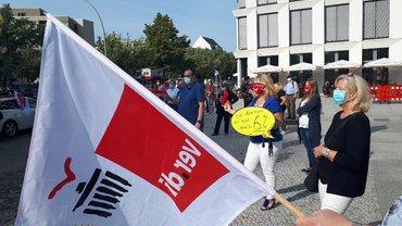 Streik bei der DB Direkt GmbH (Berlin) 15.09.2020
