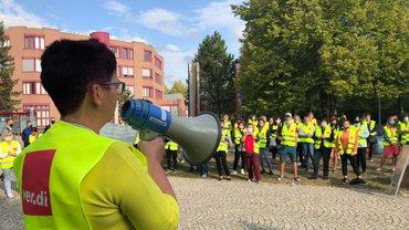 Streik bei der KEBA 24.09.2020